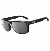 Oakley Holbrook Polarized Polished Black W/Grey Sunglasses