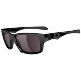 Oakley Jupiter Squared Polished Black w/ Warm Grey Sunglasses