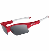 Oakley Yth. Quarter Jacket Redline w/Black Iridium Sunglasses