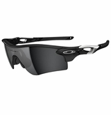 Oakley Radar Path Polished Black W/ Black Iridium Sunglasses