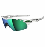 Oakley Radarlock Pitch Polished W/ Jade Iridium Vented & VR28 Vented Sunglasses