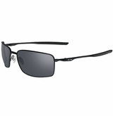 Oakley Square Wire Black/Black Iridium Sunglasses