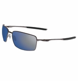 Oakley Square Wire Cement/Ice Iridium Sunglasses
