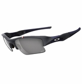 Oakley Sungalsses - Team USA Flak Jacket� XLJ Dark Grey w/ Grey Sunglasses