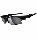 Oakley Sunglasses - Fast Jacket XL Polished Black/Black Iridium Sunglasses