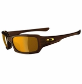 Oakley Sunglasses - Fives Squared Polarized Polished Rootbeer w/Bronze Sunglasses