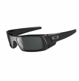 Oakley Sunglasses - GasCan Polished Black w/Grey Sunglasses
