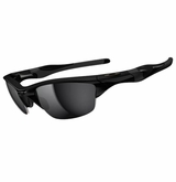 Oakley Sunglasses - Half Jacket 2.0 Polished Black w/ Black Iridium Sunglasses