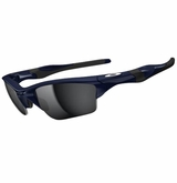 Oakley Sunglasses - Half Jacket 2.0 Polished Navy w/ Black Iridium Sunglasses