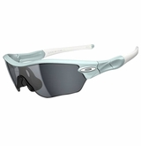 Oakley Sunglasses - Radar Edge Freshwater w/ Grey Polarized Sunglasses