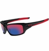 Oakley Valve Black w/Red Iridium Sunglasses