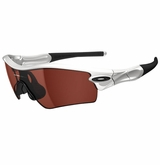OakleyRadar Path Polished White w/ VR28 Black Iridium Sunglasses