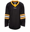 Old Boston Bruins Reebok Edge Gamewear Uncrested Junior Hockey Jersey