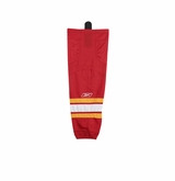 Old Calgary Flames Reebok Edge SX100 Junior Hockey Socks