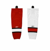 Old Carolina Hurricanes Reebok Edge SX100 Adult Hockey Socks