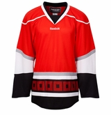 Old Carolina Hurricanes Reebok Edge Uncrested Junior Hockey Jersey