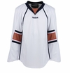 Old Edmonton Oilers Reebok Edge Gamewear Uncrested Junior Hockey Jersey