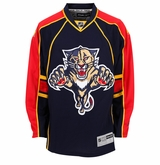 Old Florida Panthers Reebok Edge Sr. Premier Crested Hockey Jersey