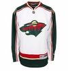 Old Minnesota Wild Reebok Edge Sr. Premier Crested Hockey Jersey