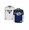 Old Nashville Predators Reebok Edge Sr. Premier Crested Hockey Jersey