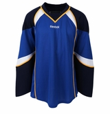 Old St. Louis Blues Reebok Edge Gamewear Uncrested Adult Hockey Jersey