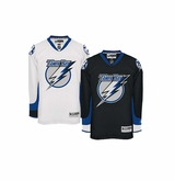 Old Tampa Bay Lightning Reebok Edge Sr. Premier Crested Hockey Jersey