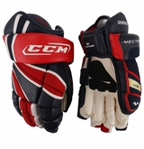 Oshawa Generals CCM Vector Pro Stock Hockey Gloves