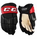 Ottawa Senators CCM 50 Pro Stock Hockey Gloves - Cowen