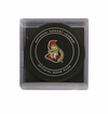Ottawa Senators Official NHL Game Puck with Cube