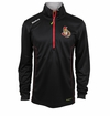 Ottawa Senators Reebok Baselayer Quarter Zip Pullover Performance Jacket