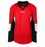 Ottawa Senators Reebok Edge Gamewear Uncrested Junior Hockey Jersey