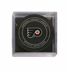 Philadelphia Flyers Official NHL Game Puck with Cube