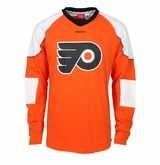 Philadelphia Flyers Reebok Edge Long Sleeve Jersey Tee