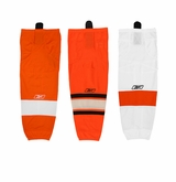 Philadelphia Flyers Reebok Edge SX100 Intermediate Hockey Socks