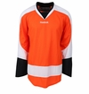 Philadelphia Flyers Reebok Edge Uncrested Junior Hockey Jersey