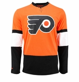 Philadelphia Flyers Reebok Face-Off Jersey Sr. Long Sleeve Shirt