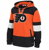 Philadelphia Flyers Reebok Face-Off Team Jersey Sr. Hooded Sweatshirt