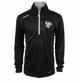 Pittsburgh Penguins Reebok Baselayer Quarter Zip Pullover Performance Jacket