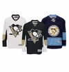 Pittsburgh Penguins Reebok Edge Jr. Premier Crested Hockey Jersey
