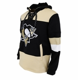 Pittsburgh Penguins Reebok Face-Off Team Jersey Sr. Hooded Sweatshirt