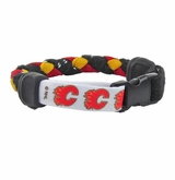 Swanny's Calgary Flames Skate Lace Bracelet