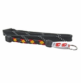 Swanny's Calgary Flames Skate Lace Lanyard