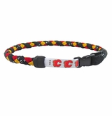 Swanny's Calgary Flames Skate Lace Necklace