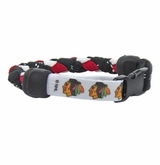 Swanny's Chicago Blackhawks Skate Lace Bracelet