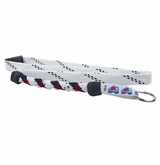Swanny's Colorado Avalanche Skate Lace Lanyard