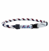 Swanny's Colorado Avalanche Skate Lace Necklace