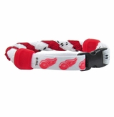 Swanny's Detroit Red Wings Skate Lace Bracelet