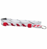 Swanny's Detroit Red Wings Skate Lace Lanyard