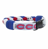 Swanny's Montreal Canadiens Skate Lace Bracelet