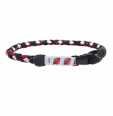 Swanny's New Jersey Devils Skate Lace Necklace